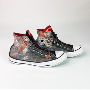 Converse Harley Quinn DC Comics Sneakers S…